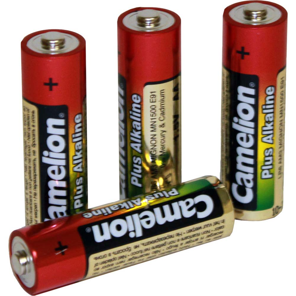 Four AA Alkaline Batteries - View #1