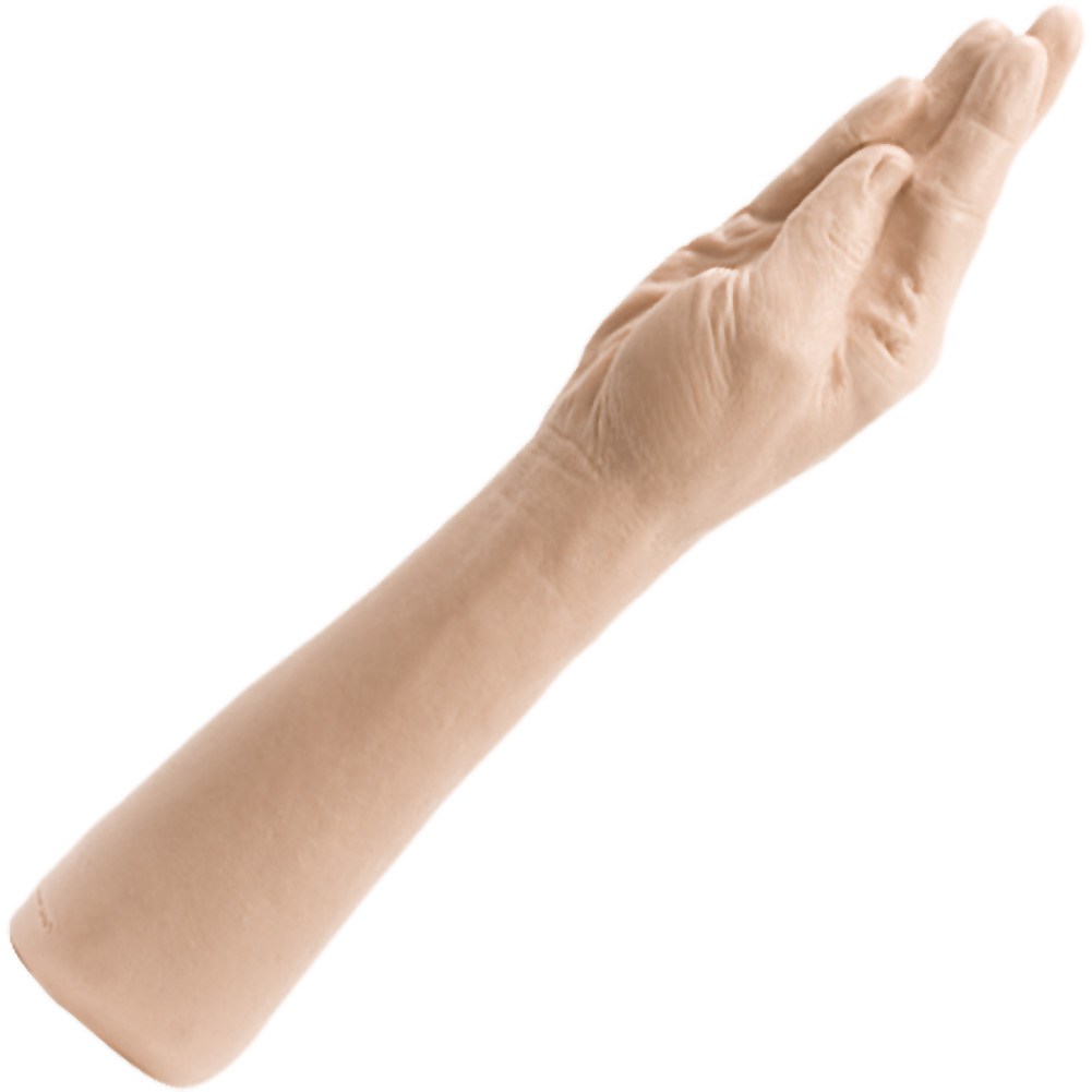 "Doc Johnson Classic Hand Dildo 16"" Natural - View #2"