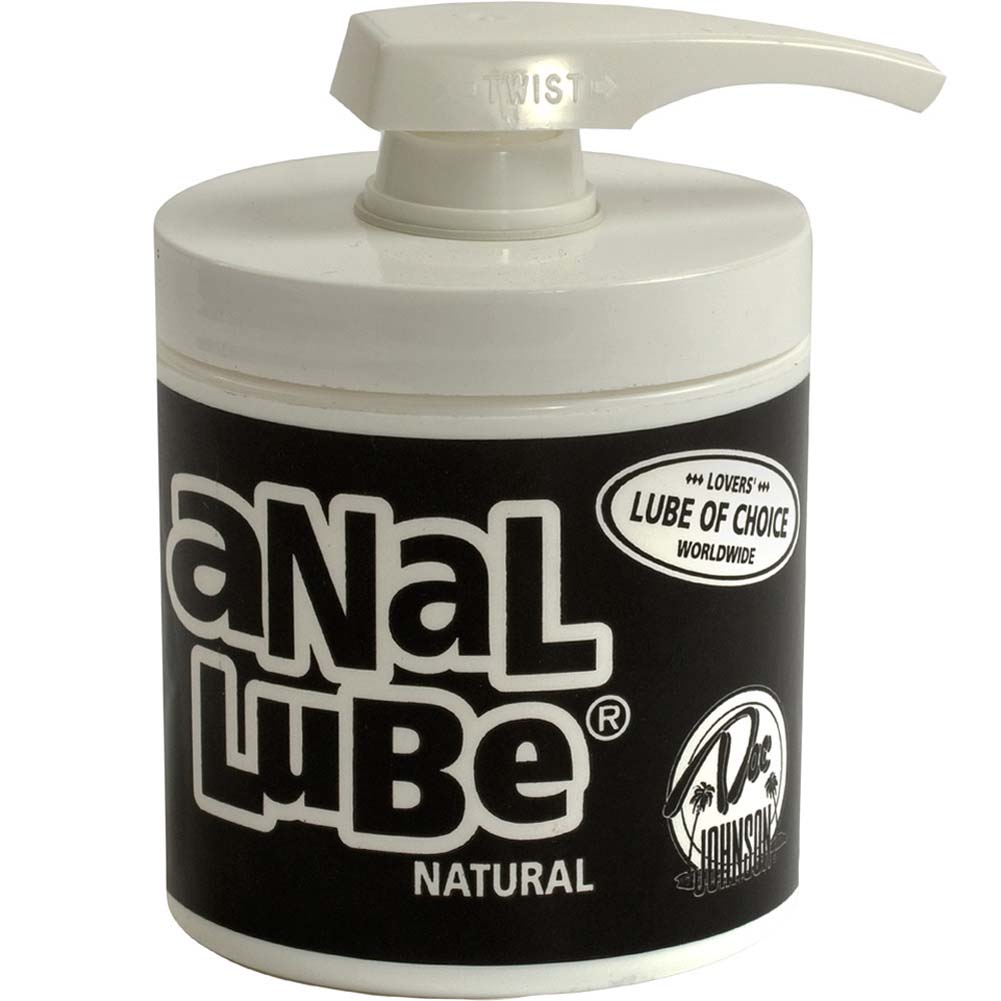 Doc Johnson Anal Lube 4.5 Oz 127 G Natural Unscented - View #1