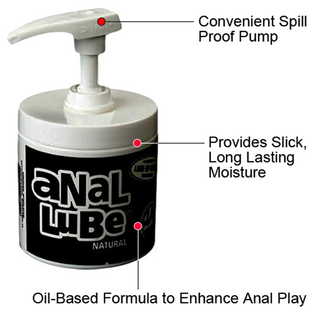 Natural Unscented Anal Lube 4.5 Oz 127 G - View #2
