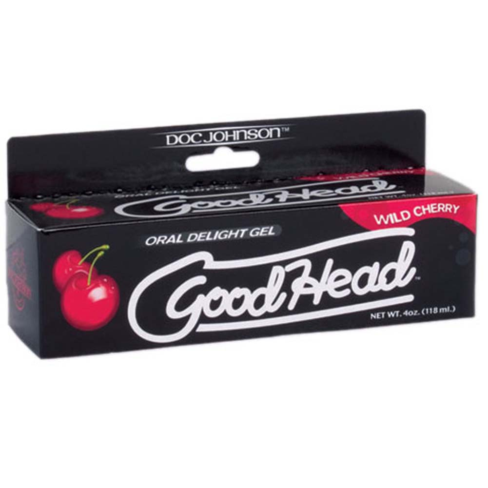 GoodHead Oral Delight Gel for Lovers 4 Ounce 113 G Wild Cherry - View #1