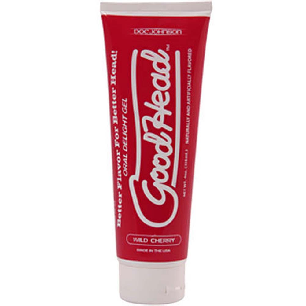 GoodHead Oral Delight Gel for Lovers 4 Ounce 113 G Wild Cherry - View #2