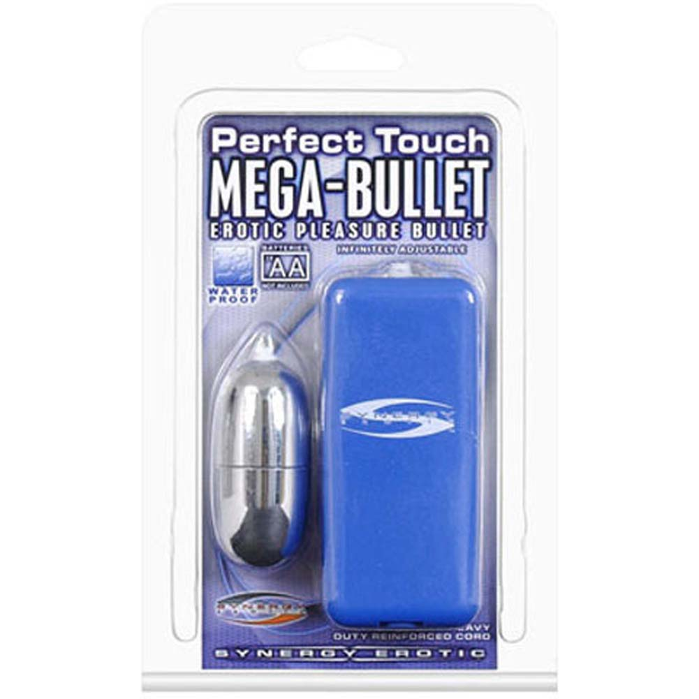 "Synergy Perfect Touch Mega Bullet Vibrator 2.5"" Blue - View #3"