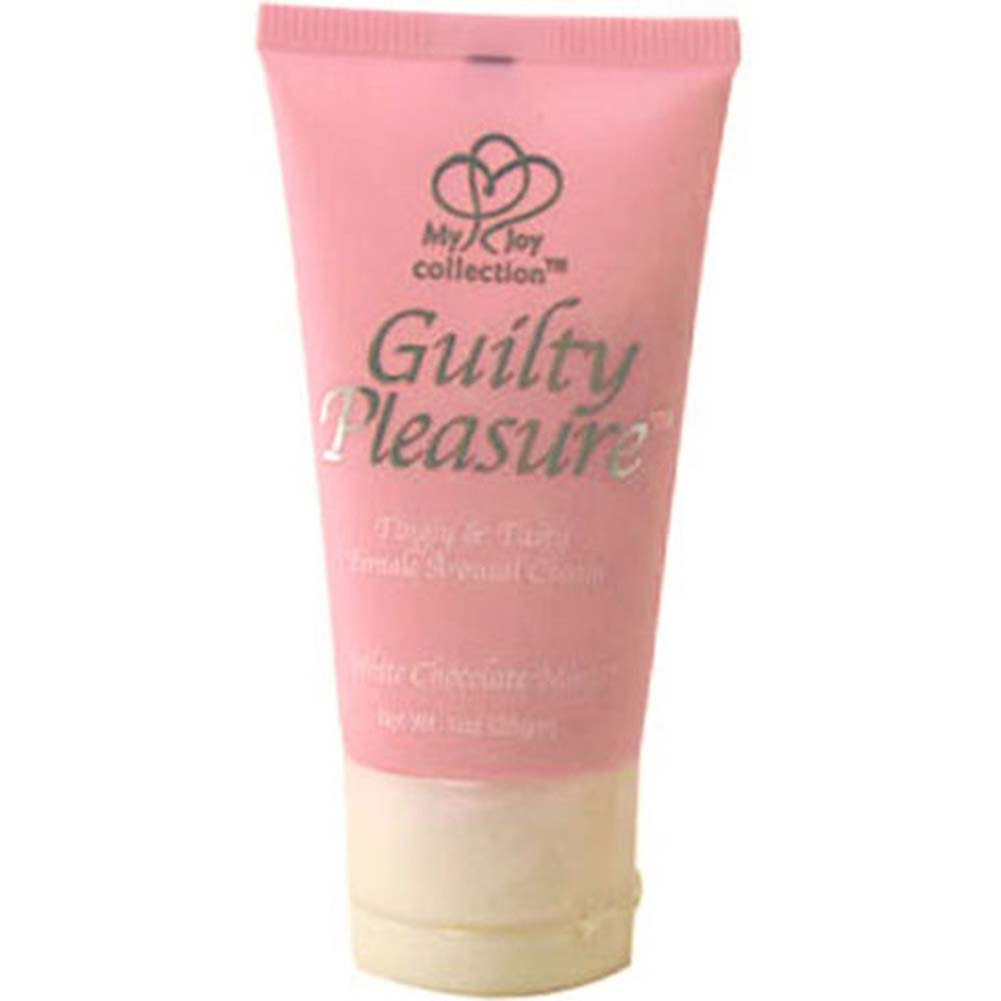 Guilty Pleasure Female Arousal Cream 1 Fl.Oz White Chocolate Mint - View #2