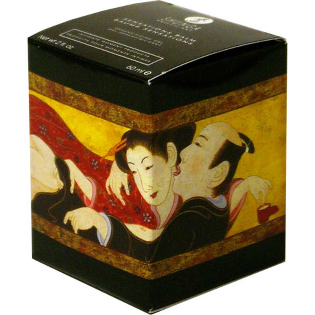 Shunga Sensations Balm 2 Fl. Oz. 60 mL Blazing Cherry - View #3