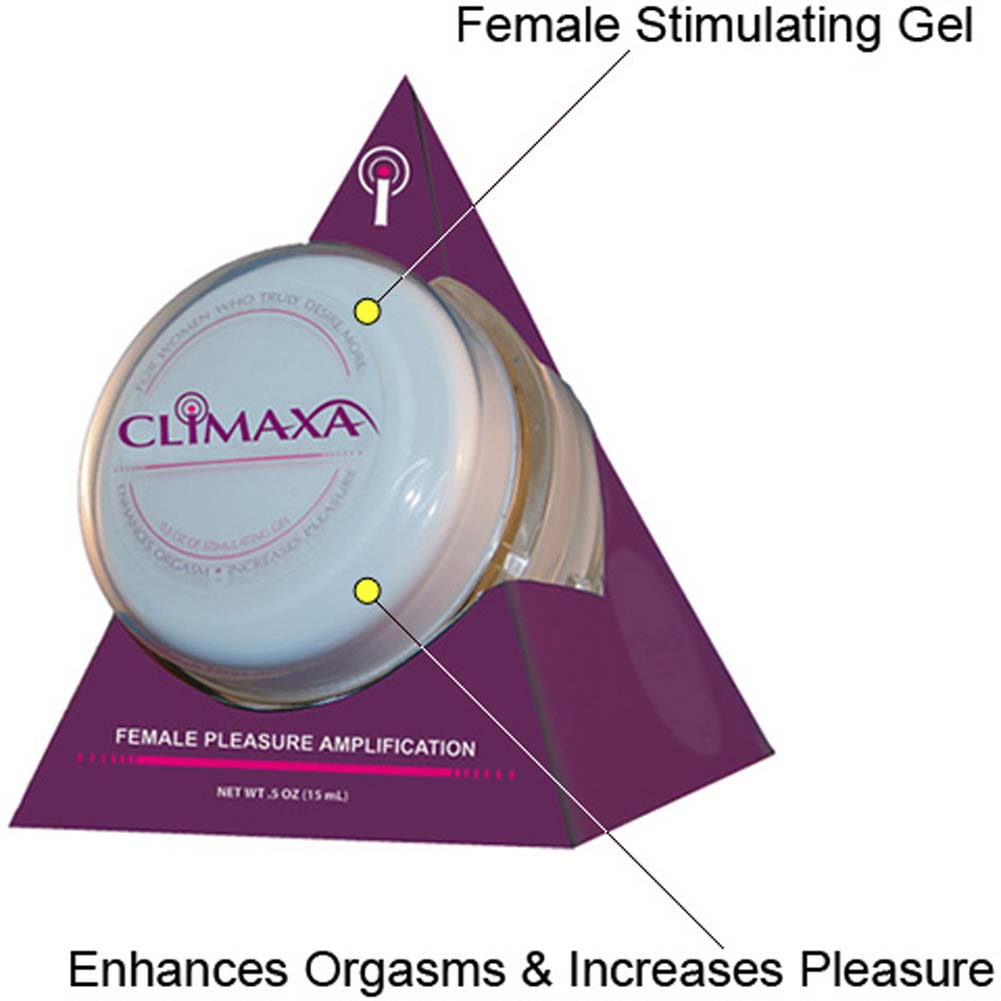Climaxa Female Pleasure Amplification Gel 0.5 Fl.Oz 15 mL - View #1