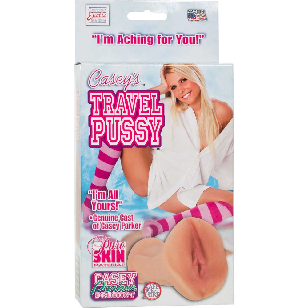 California Exotics CaseyS Travel Pussy Masturbator for Men PureSkin Flesh - View #4
