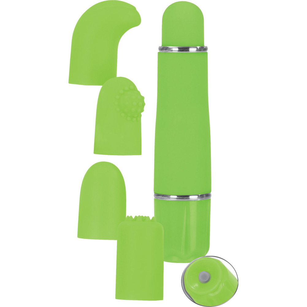 "Lovevibe Number 9 Interchangeable Tips 4.5"" Lime - View #2"