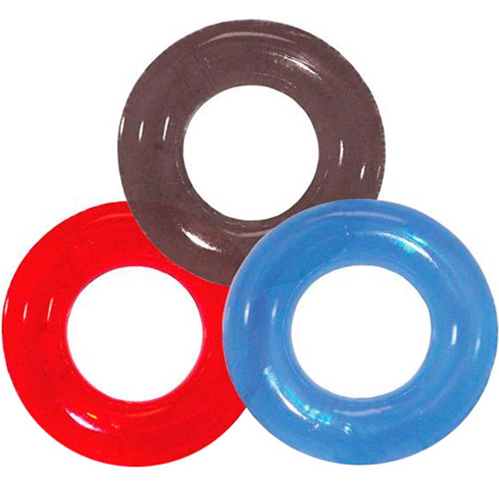 Screaming O RingO Silicone Cock Ring ASSORTED COLORS - View #2