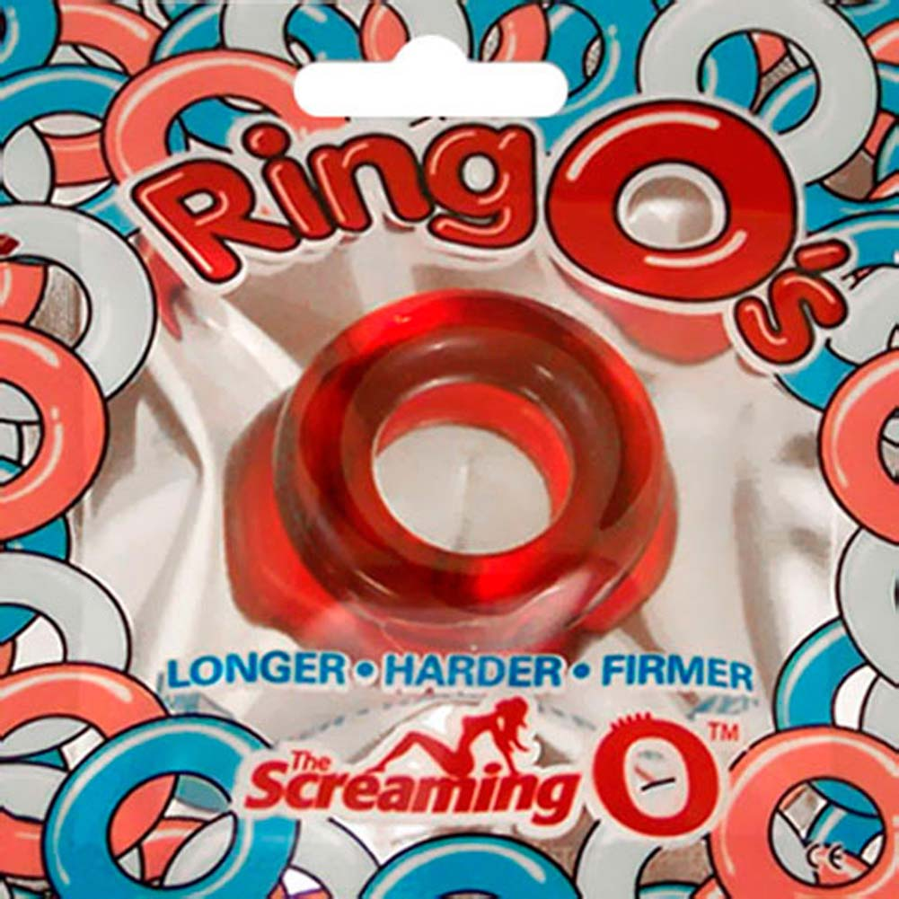 Screaming O RingO Silicone Cock Ring ASSORTED COLORS - View #4