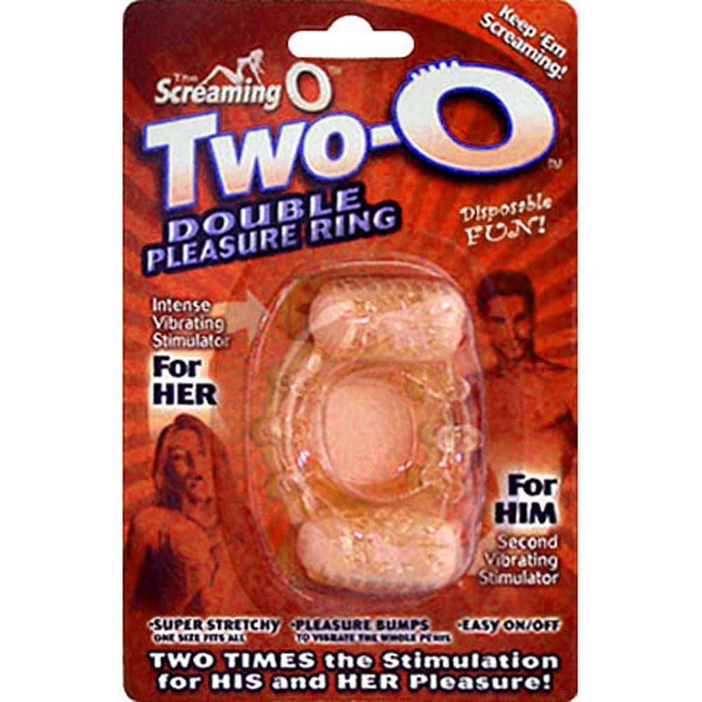 Screaming O Two-O Double Pleasure Vibrating Cockring - View #4