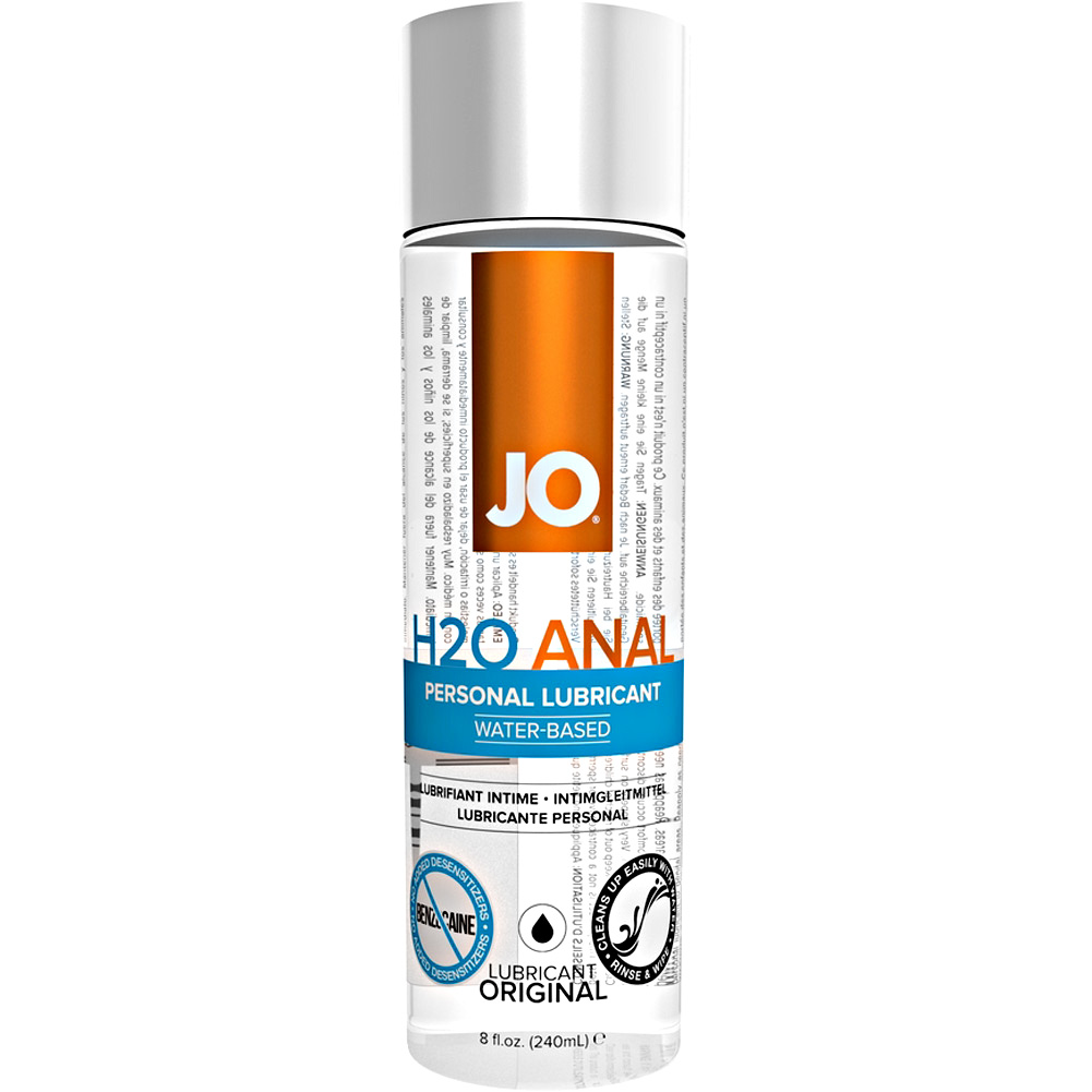 JO Anal H2O Original Water Based Personal Lubricant 8 Fl.Oz 240 mL - View #2