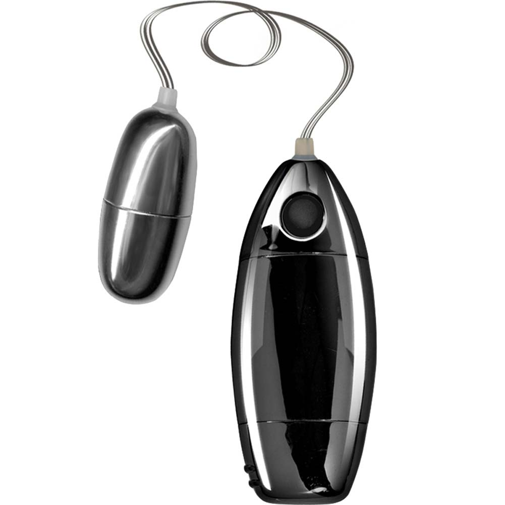 Synergy Erotic Synergy Perfect Touch Excite Her Silver Bullet Vibrator Black - View #2