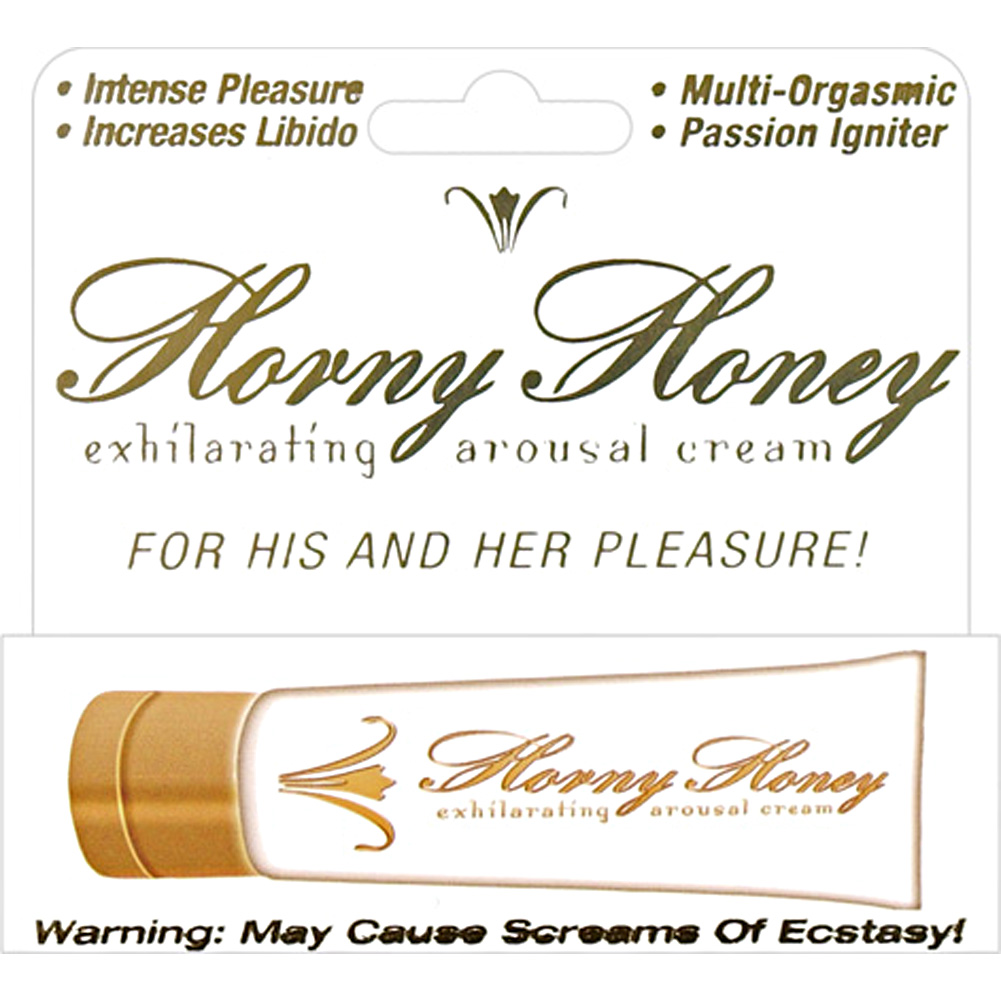 Horny Honey Arousal Cream for His and Her Pleasure 1 Fl.Oz 30 mL - View #1