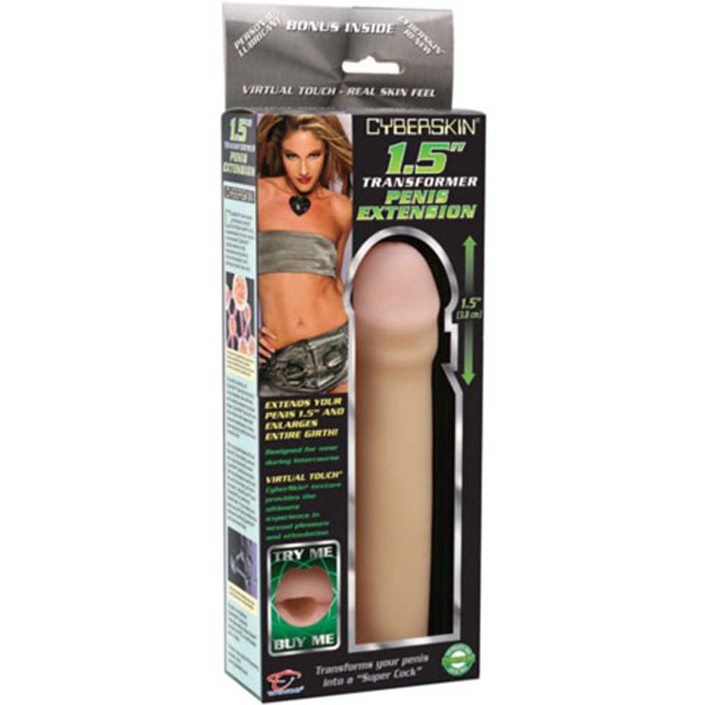 "CyberSkin Transformer 1.5"" Penis Extension Natural - View #4"