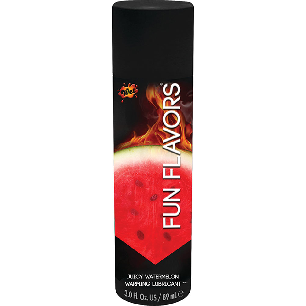 Wet Fun Flavors 4-in-1 Flavored Warming Massage Lubricant 4.1 Ounce Watermelon Blast - View #1