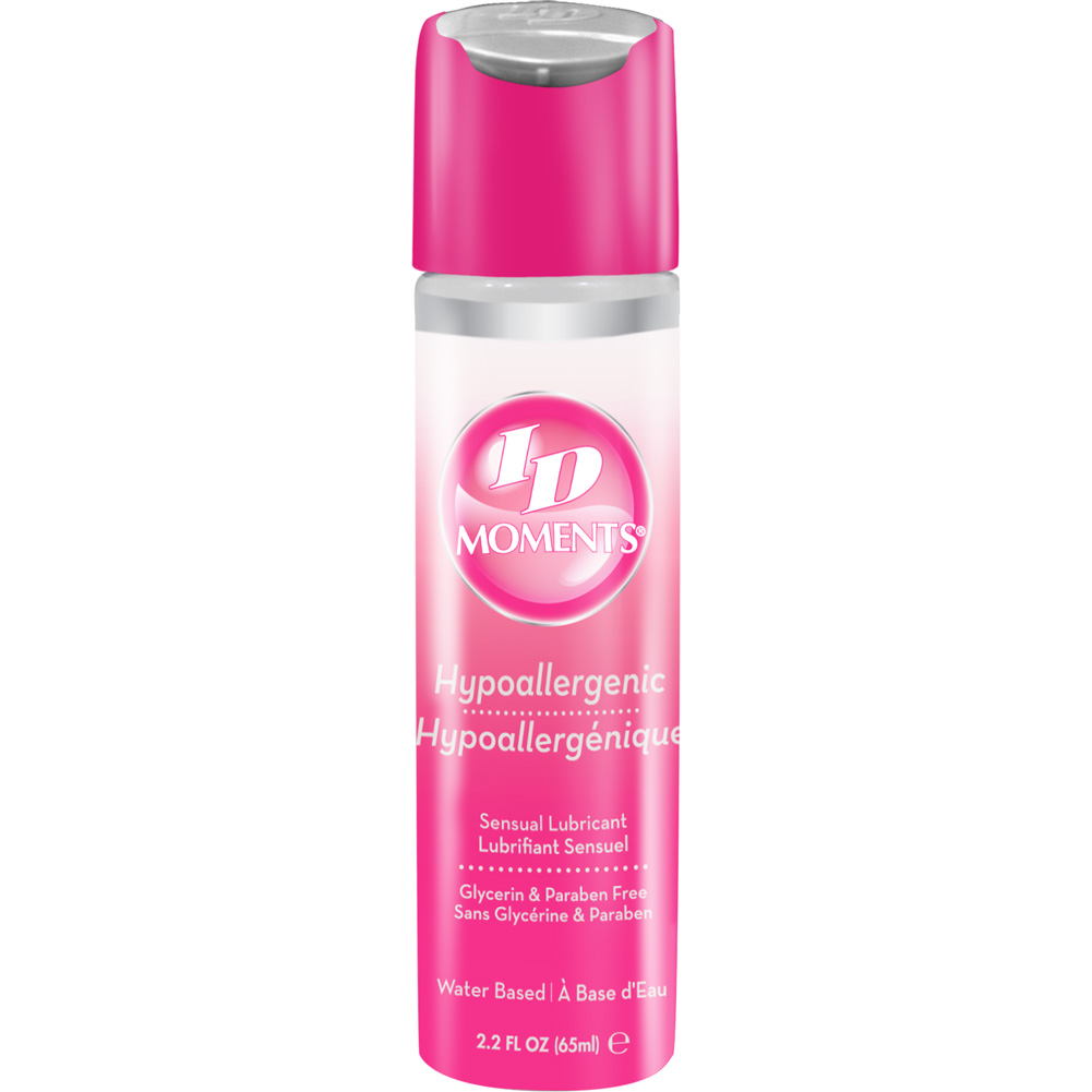 ID Moments Hypoallergenic Water Based Personal Lubricant 2.2 Fl.Oz 65 mL - View #1