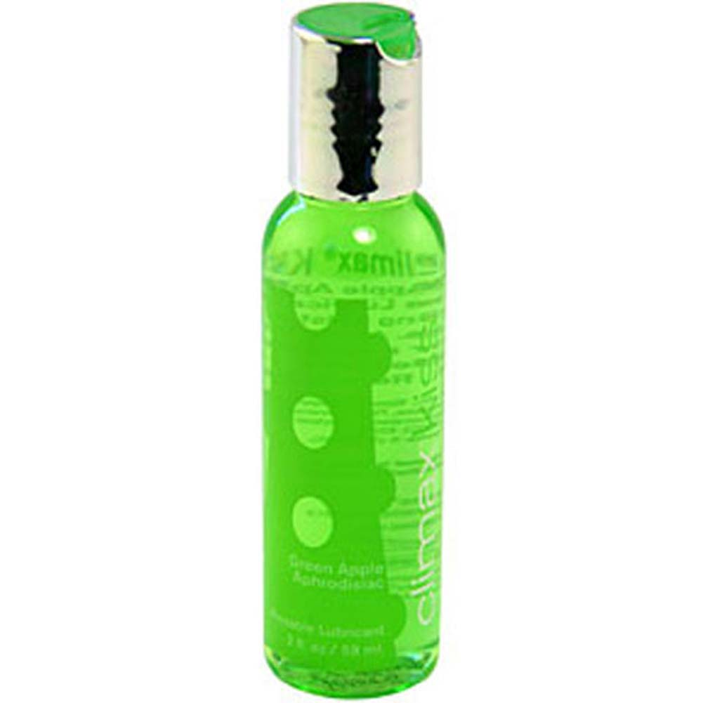 Climax Kiss Lickable Intimate Lubricant 2 Fl.Oz 59 mL Green Apple - View #1