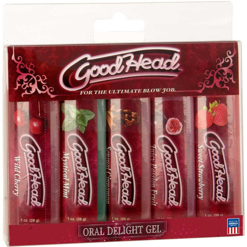 GoodHead Flavored Gel 5 Bottle Pack 1 Ounce Each - View #3