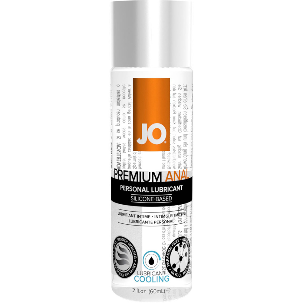 JO Premium Anal Cooling Silicone Personal Lubricant 2 Fl Oz 60 mL - View #1