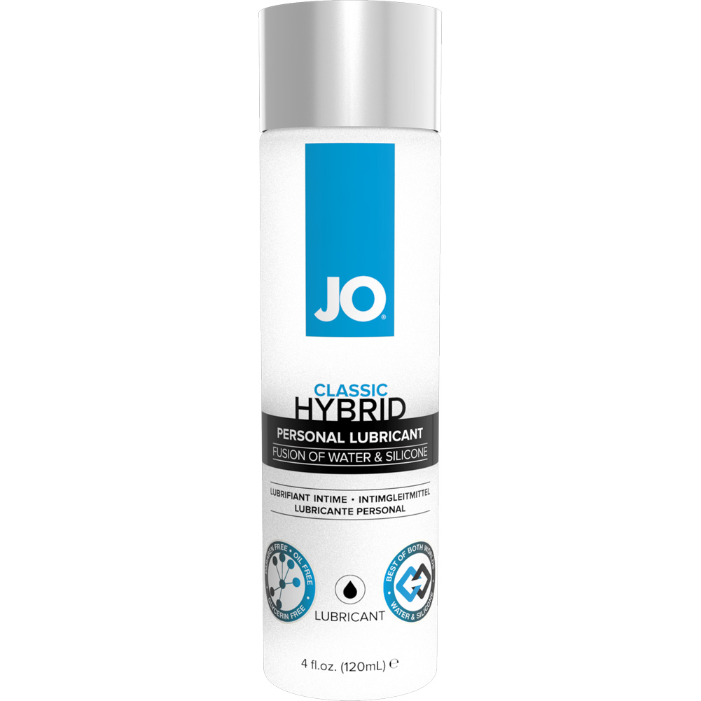 JO Hybrid Silicone and Water Based Personal Lubricant 4 Fl.Oz 120 mL - View #1