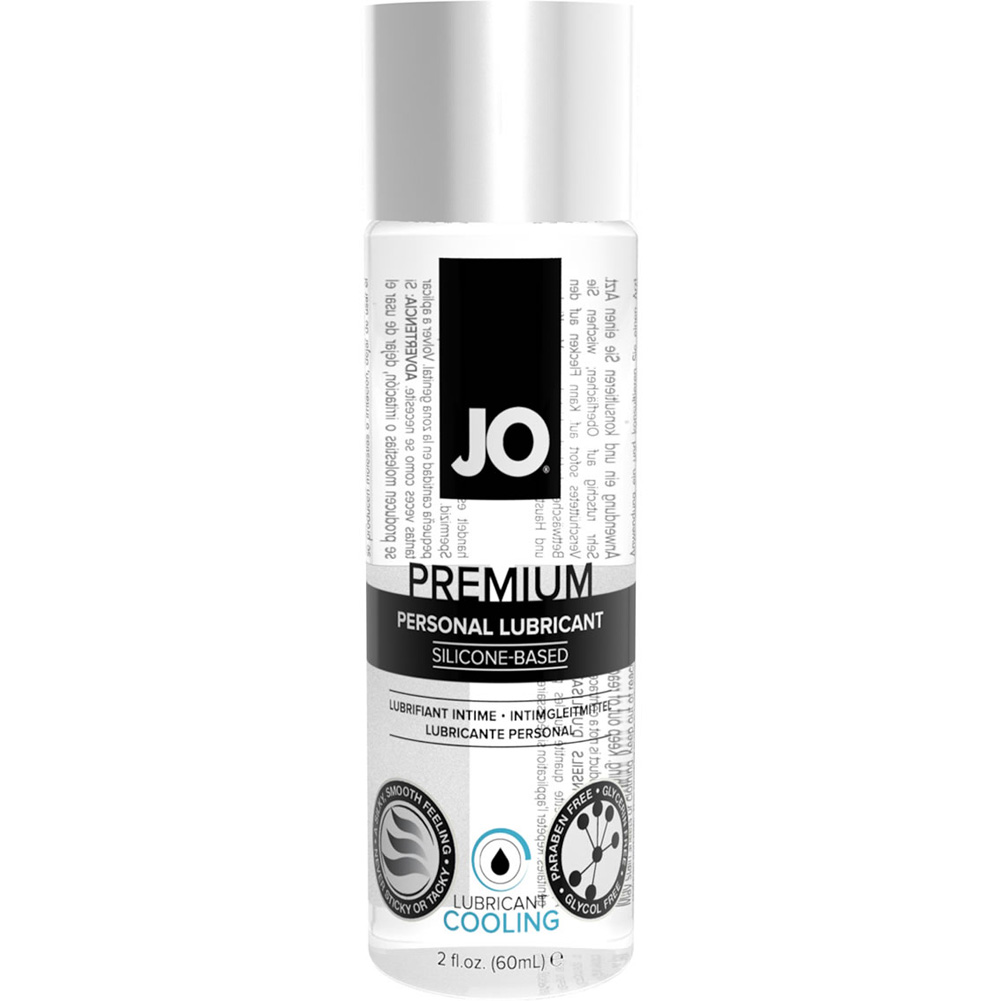 JO Premium Cooling Personal Silicone Based Lubricant 2 Fl.Oz 60 mL - View #1