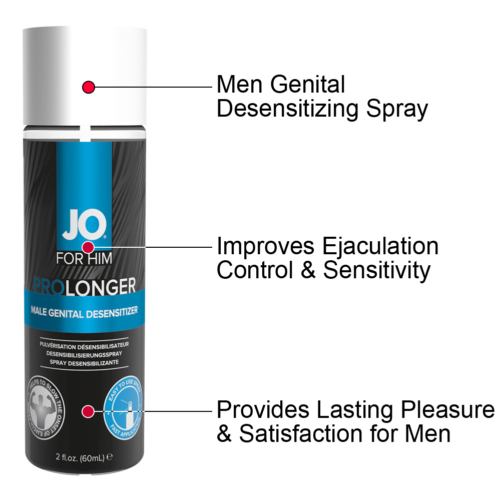 JO for Men Prolonger Desensitizing Spray 2 Fl.Oz 60 mL - View #1