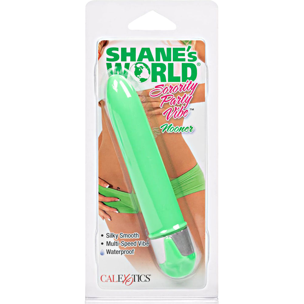"CalExotics Shanes World Sorority Party Nooner Vibe 5.75"" Neon Green - View #1"