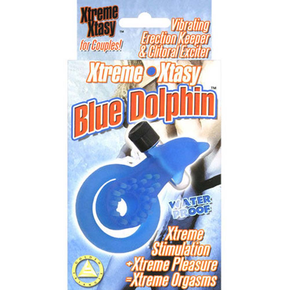Adult sex toys the blue dolphin ring