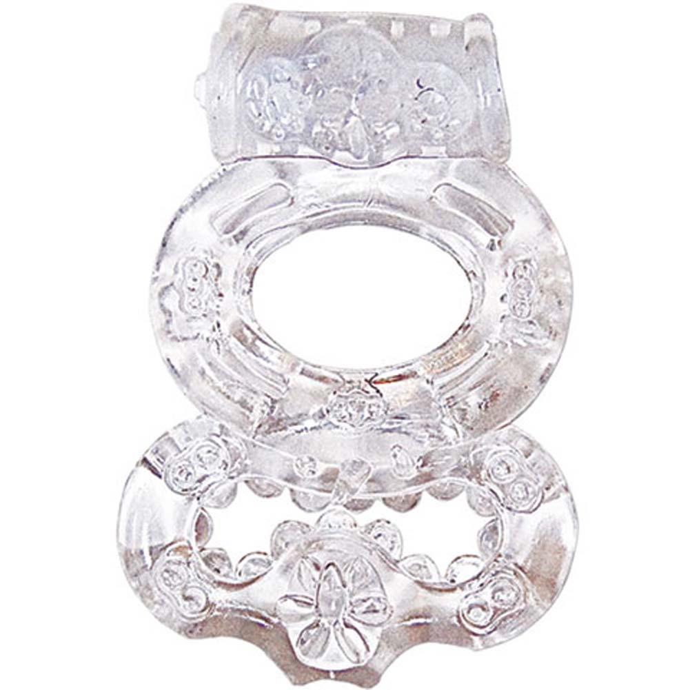 Nasstoys Macho Crystal Collection Jelly Double Ring Crystal - View #1