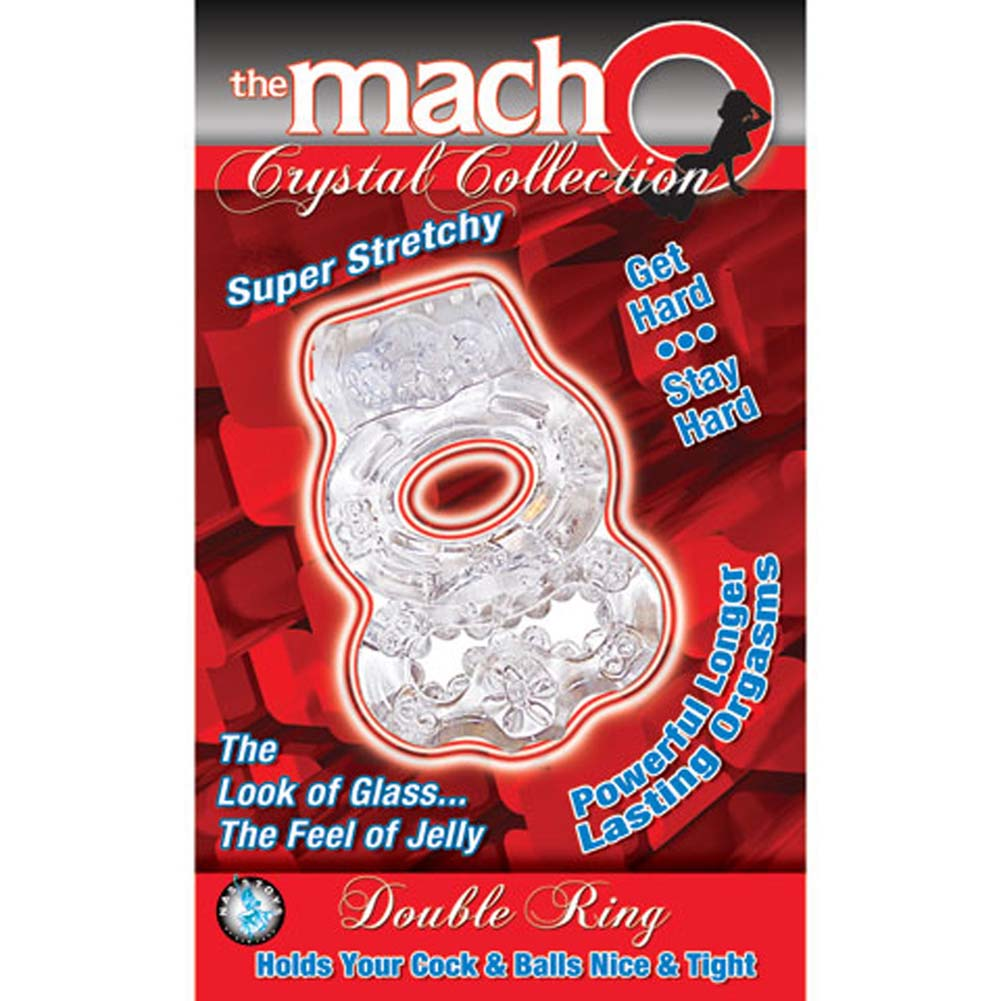 Nasstoys Macho Crystal Collection Jelly Double Ring Crystal - View #3
