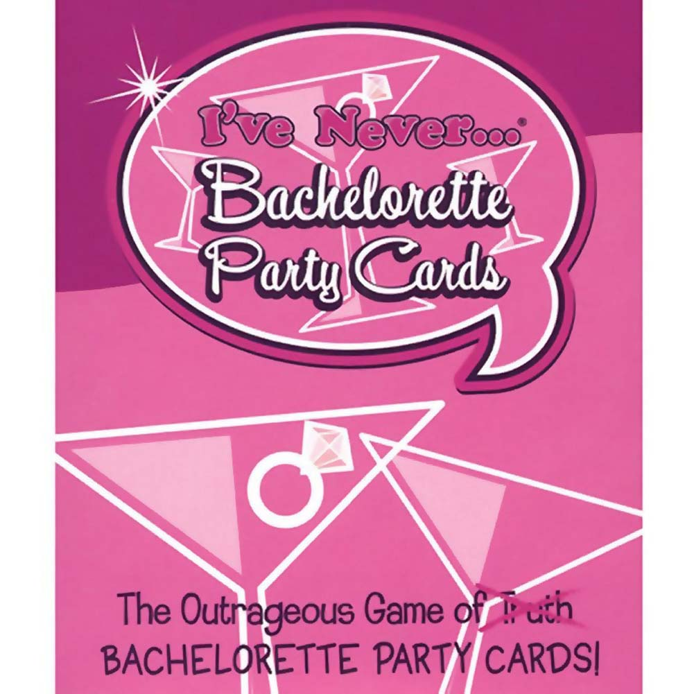 I Have Never Bachelorette Party Cards - View #2