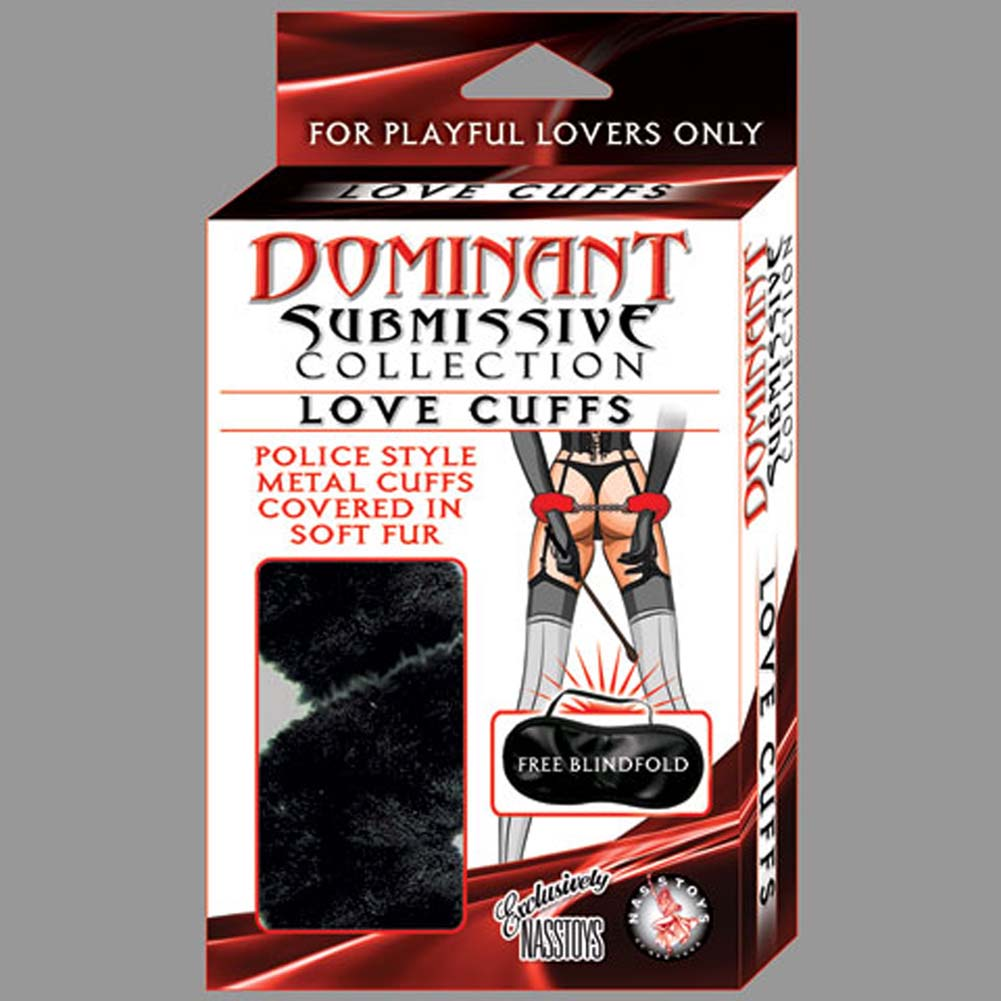 Nasstoys Dominant Submissive Collection Love Cuffs Black - View #1