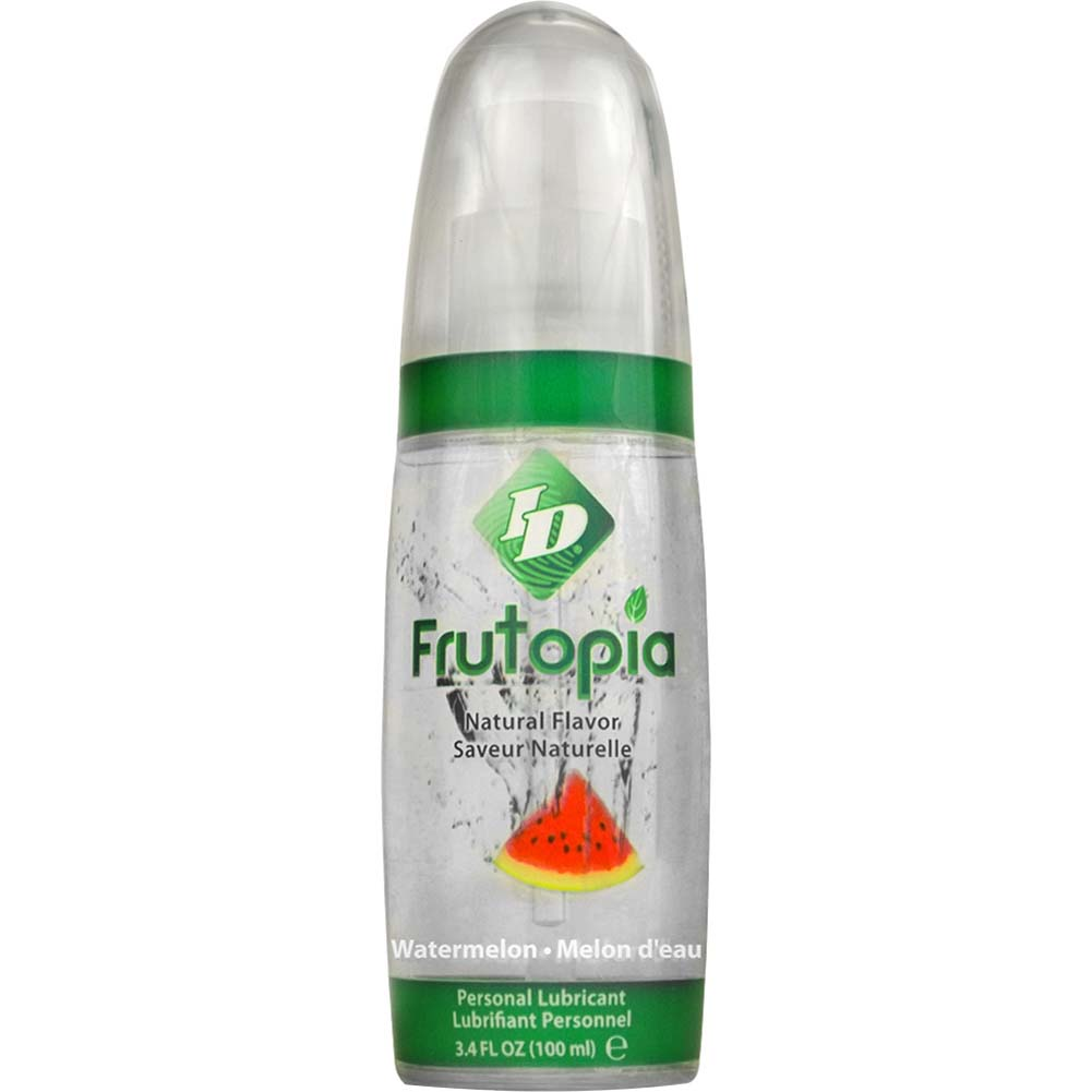 ID Frutopia Naturally Flavored Personal Lubricant 3.4 Fl.Oz 100 mL Watermelon - View #1