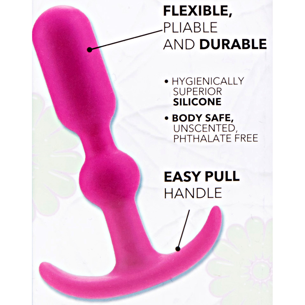 """CalExotics Booty Call Booty Teaser Anal Probe 4"""" Pink - View #1"""