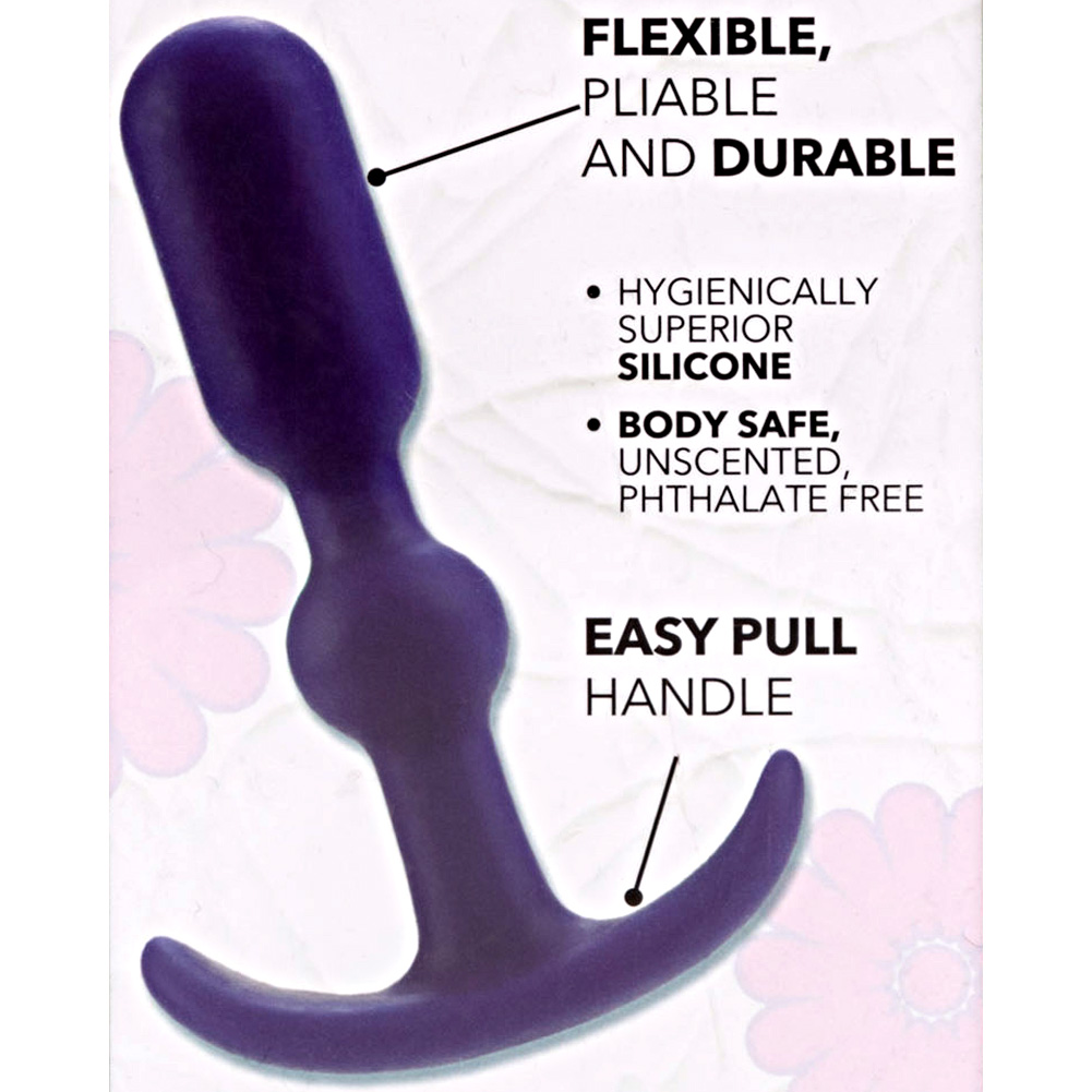 """CalExotics Booty Call Booty Teaser Anal Probe 4"""" Purple - View #1"""