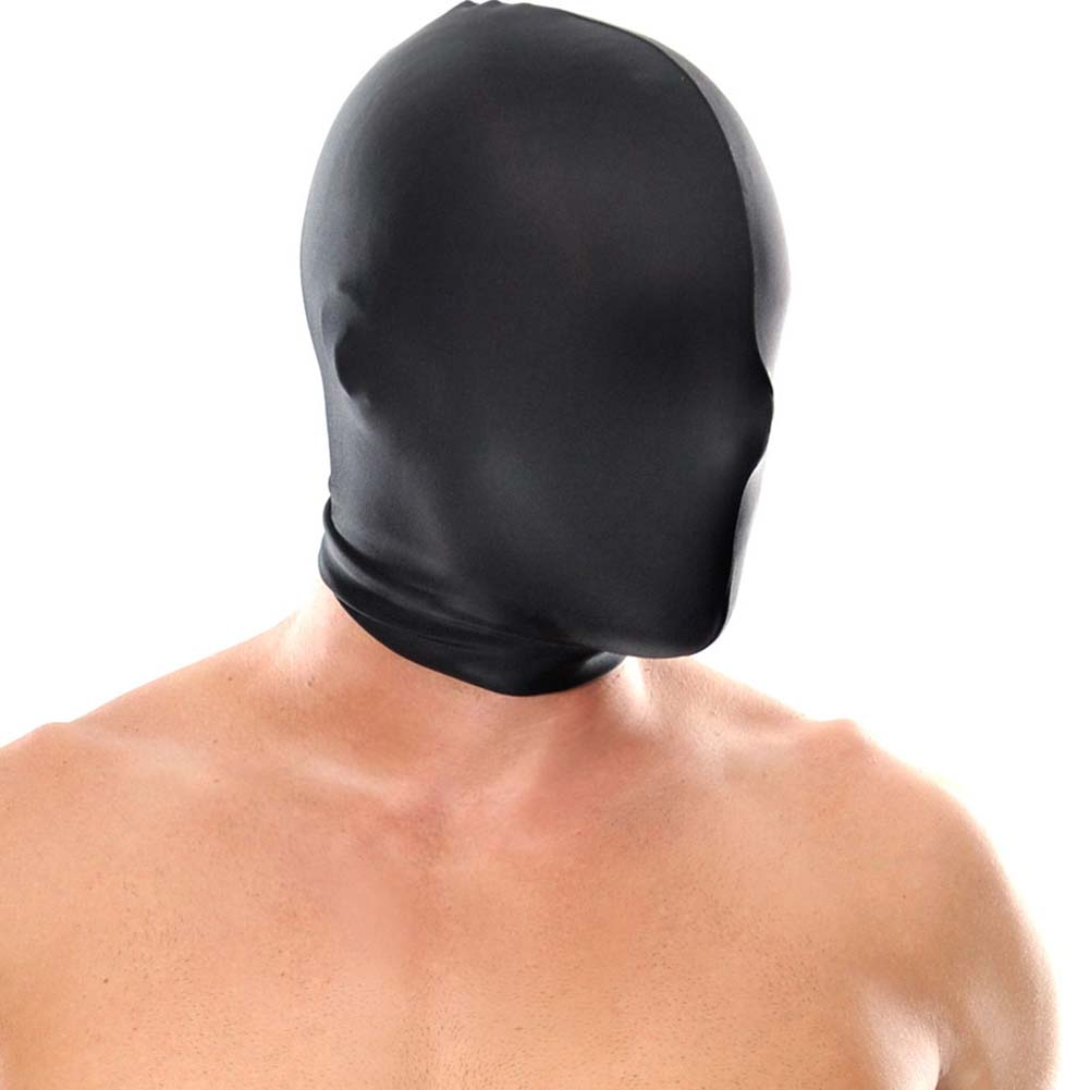 Fetish Fantasy Series Spandex Full Face Hood Black - View #2