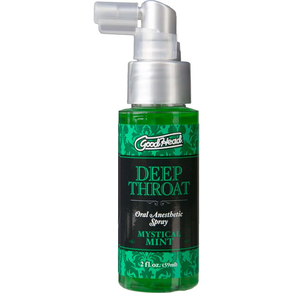 GoodHead Deep Throat Oral Sex Aid Spray 2 Fl.Oz 59 mL Mystical Mint - View #2