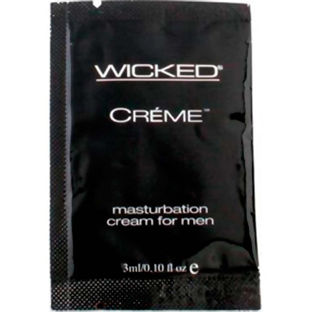 Wicked Sensual Care Masturbation Cream for Men 0.10 Fl. Oz 3ml Pillow - View #1