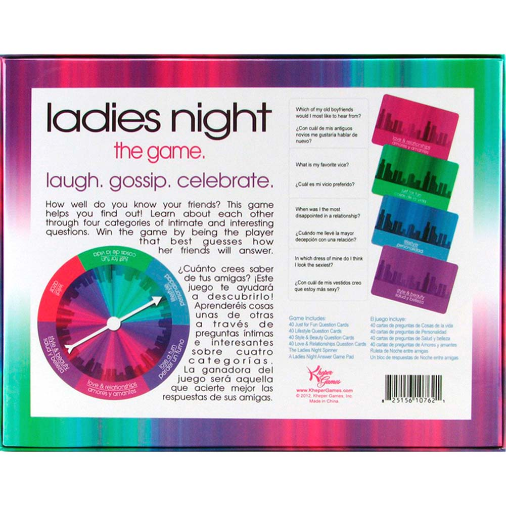 Ladies Night the Game - View #1