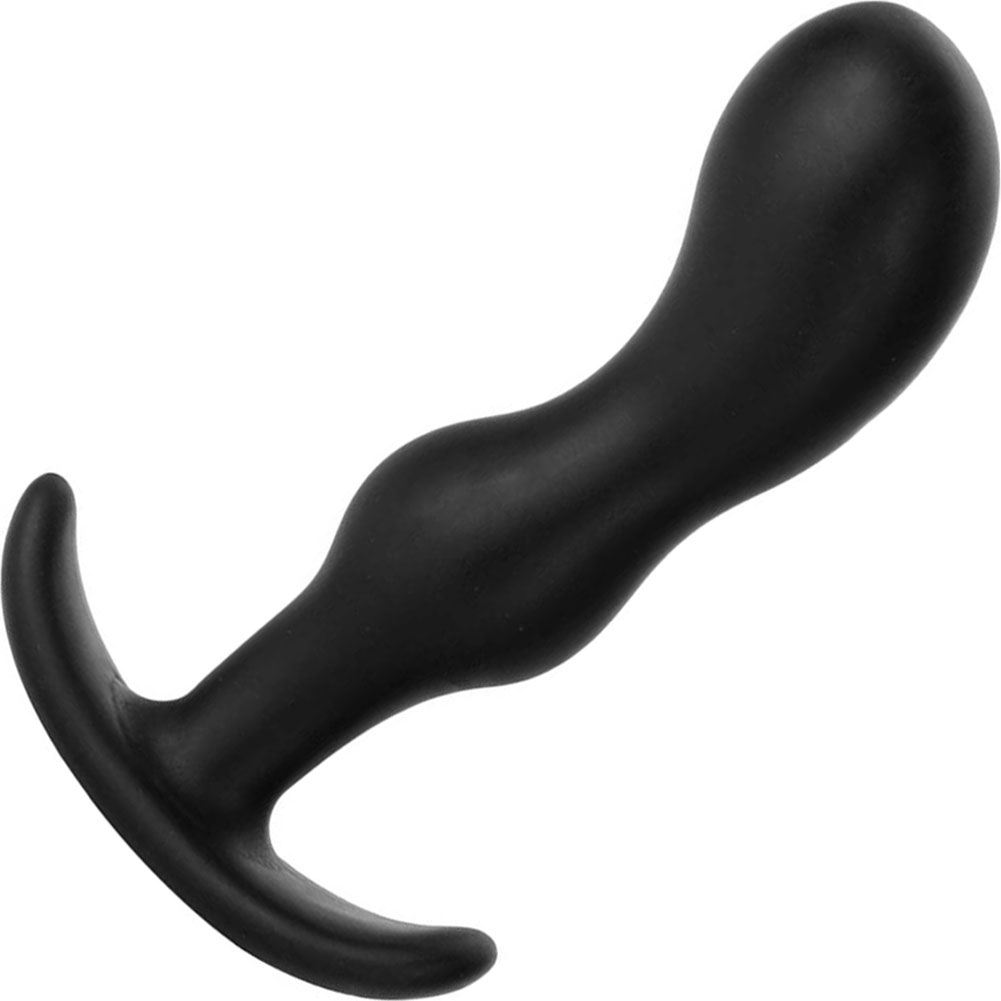 "Mood Naughty 2 Small Silicone Butt Plug 3.25"" Black - View #2"
