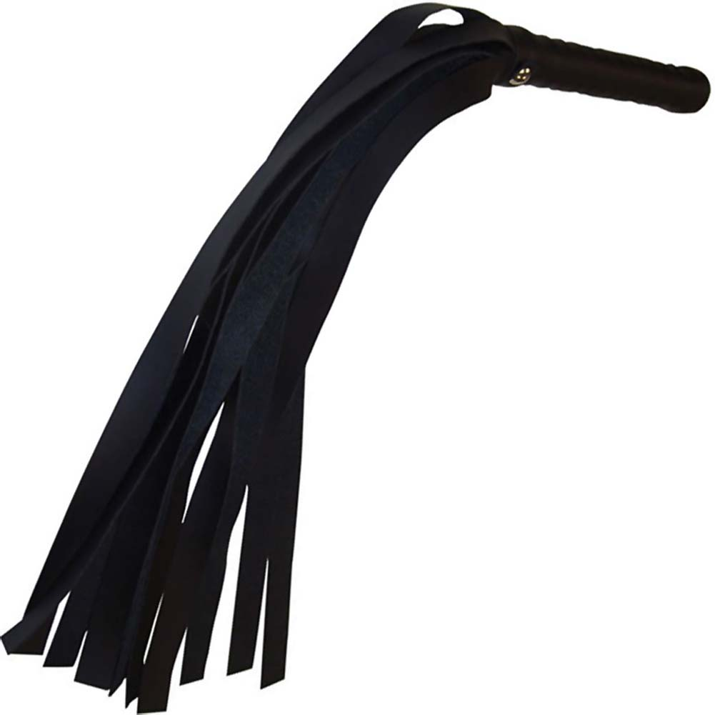 "Sex and Mischief S M Mini Flogger 21"" Black - View #2"