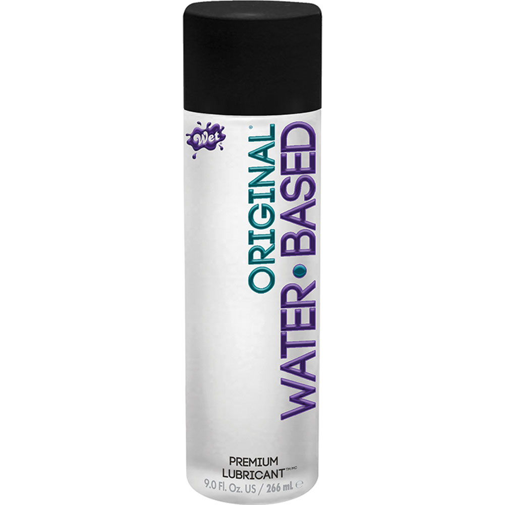 Wet Original Gel Water Based Personal Lubricant 10.6 Oz. - View #2