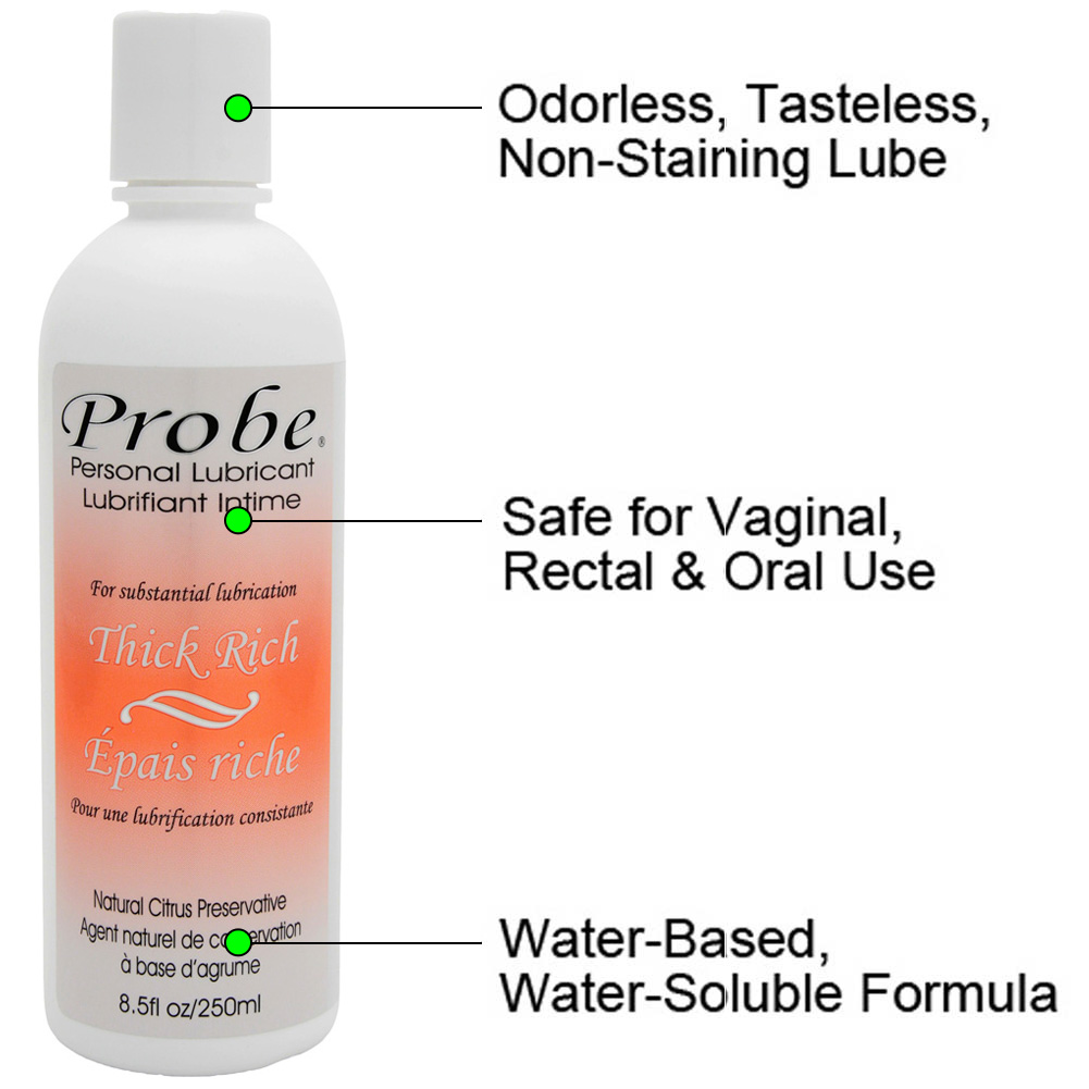 Probe Classic Thick Rich Personal Lubricant 8.5 Fl.Oz 250 mL - View #1