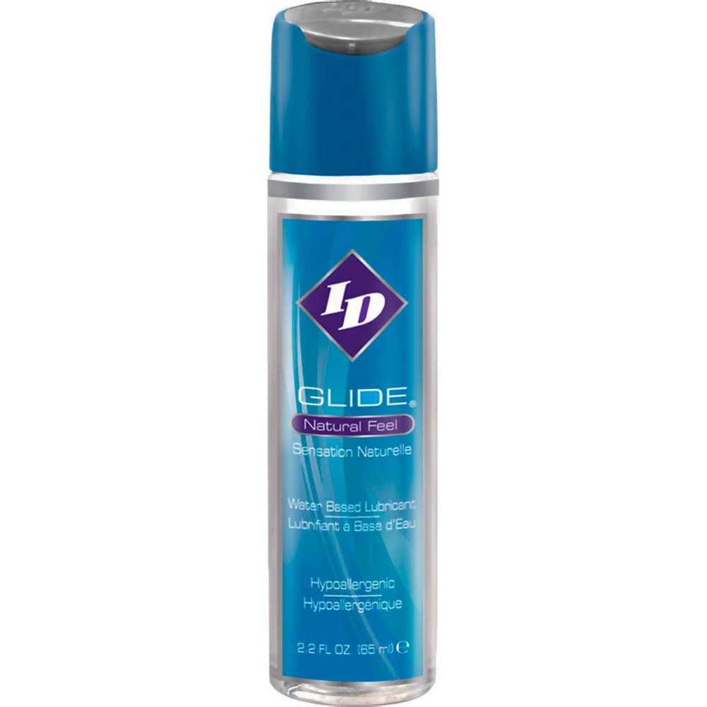 ID Glide Natural Feel Water-Based Personal Lubricant 2.2 Fl.Oz 65 mL - View #2