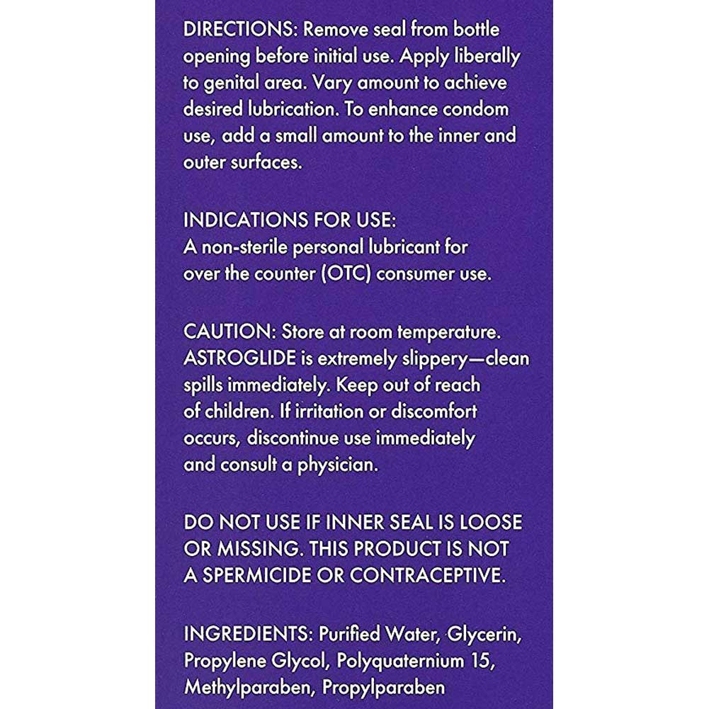 Astroglide Personal Lubricant for Men and Women 5 Fl.Oz 148 mL - View #3