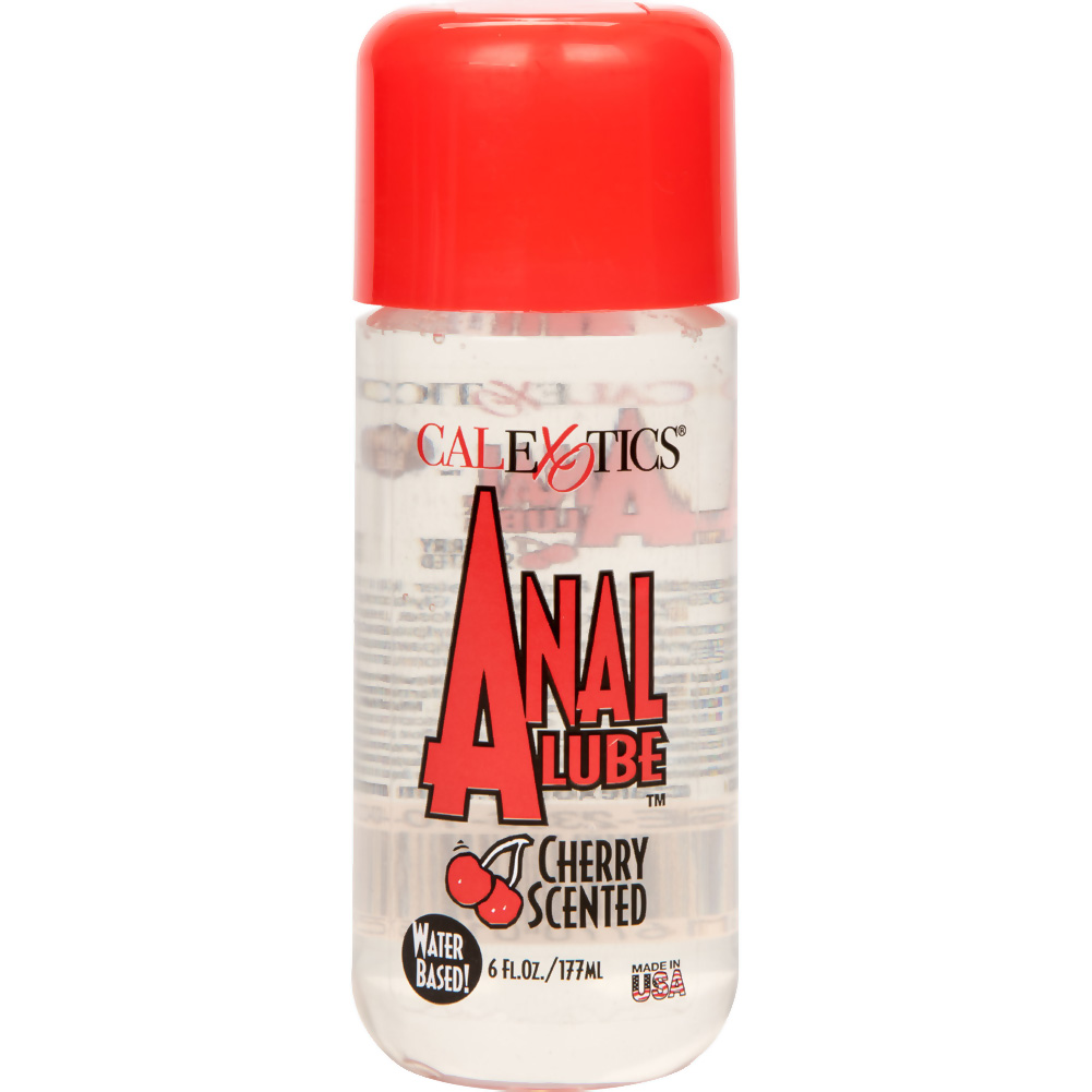 CalExotics Anal Lube for Men and Women 6 Fl.Oz 177 mL Cherry - View #2
