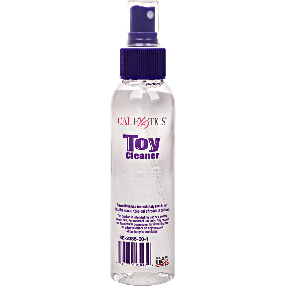 CalExotics Anti Bacterial Toy Cleaner 4.3 Fl. Oz. - View #1