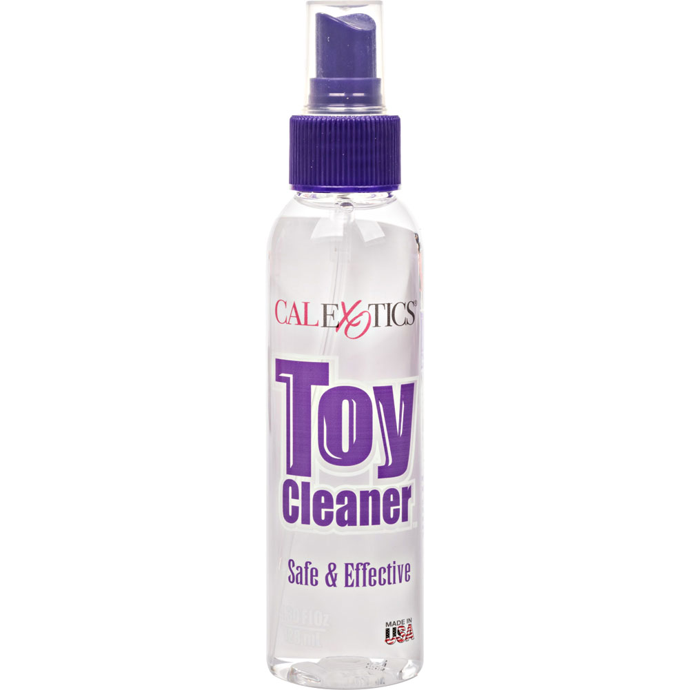 CalExotics Anti Bacterial Toy Cleaner 4.3 Fl. Oz. - View #2