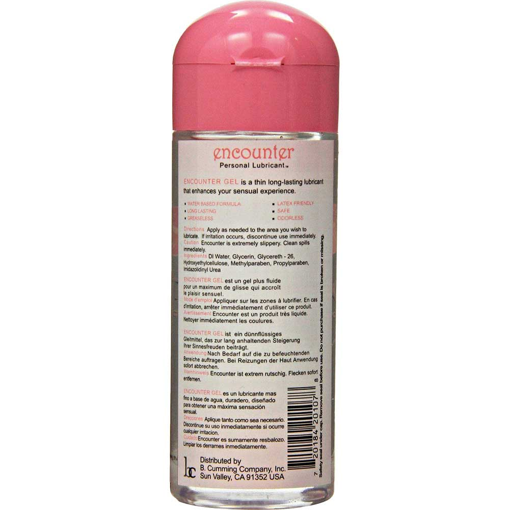 B Cumming Encounter Moisturizing Gel Personal Lubricant 8 Fl.Oz 237 mL Unscented - View #1